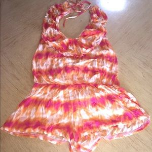 Nwt Tie Dye Victorias Secret Swimsuit Cover Sz Sm